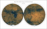 Image of Ralph's albedo Map of Mars
