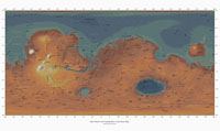 Image of Ralph's Cylindrical topo Map of Mars