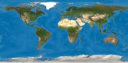 Image of Ralph's Earth Map base in Cylindrical Projection