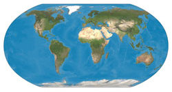 Image of Ralph's Earth Map base in Robinson Projection