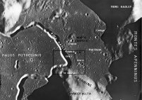 Apollo 15 landing location