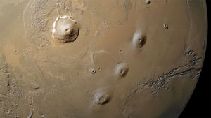 Image of Ralph's map Tharsis Ridge and Olympus Mons