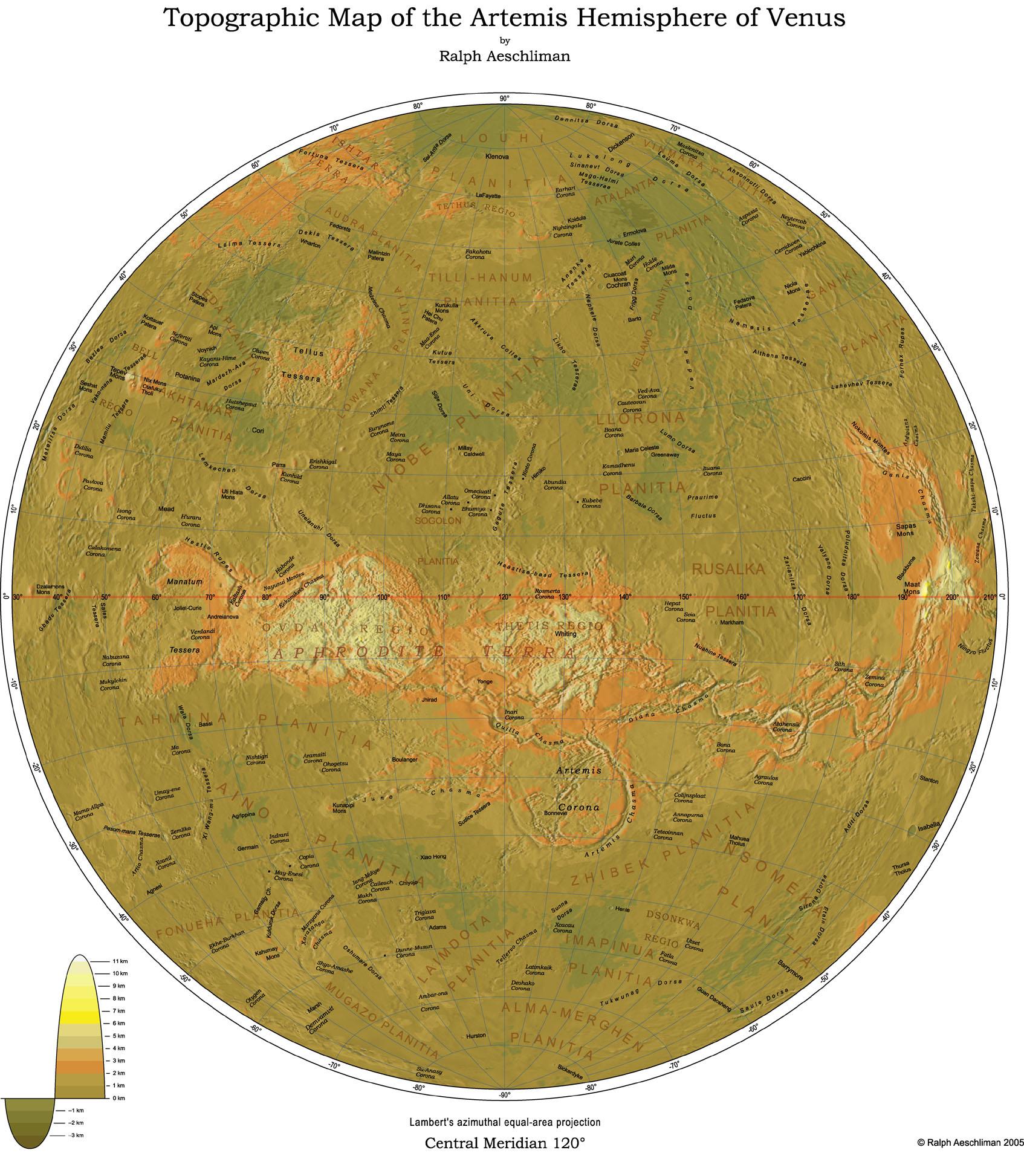 Gallery4 Map Of Venus on